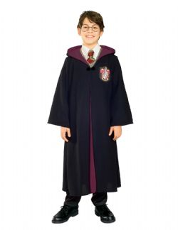 HARRY POTTER -  ROBE DE GRYFFONDOR DE LUXE (ENFANT)