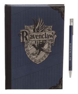 HARRY POTTER -  SERDAIGLE - ENSEMBLE CARNET BLEU & STYLO