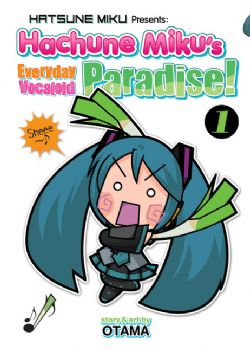 HATSUNE MIKU -  HACHUNE MIKU - EVERYDAY VOCALOID PARADISE 01