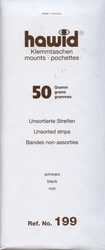HAWID -  ASSORTIMENT DE 50 POCHETTES À FOND NOIR