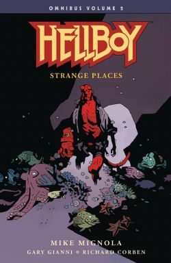 HELLBOY -  STRANGE PLACES TP -  HELLBOY OMNIBUS 02