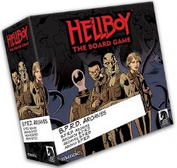 HELLBOY : THE BOARD GAME -  B.P.R.D. (ANGLAIS)