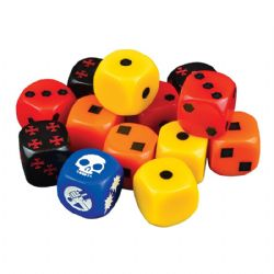HELLBOY : THE BOARD GAME -  DÉS SUPPLÉMENTAIRES (ANGLAIS)