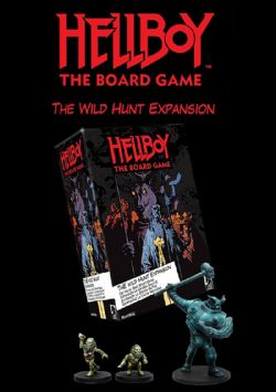 HELLBOY : THE BOARD GAME -  WILD HUNT (ANGLAIS)