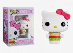 HELLO KITTY -  FIGURINE HELLO KITTY (KAWAII BURGER SHOP) EN VINYLE (10 CM) 29