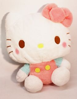 HELLO KITTY -  PELUCHE DE HELLO KITTY AVEC JOUES ROUGES (34 CM)