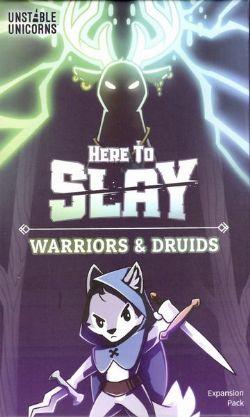HERE TO SLAY -  WARRIORS AND DRUIDS (ANGLAIS)