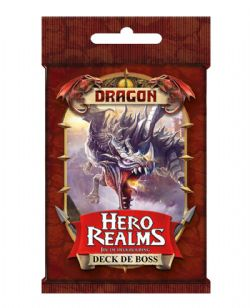 HERO REALMS -  DRAGON - DECK DE BOSS (FRANÇAIS)
