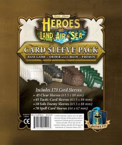 HEROES OF LAND, AIR AND SEA -  CARD SLEEVE PACK(ANGLAIS)