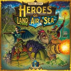 HEROES OF LAND, AIR AND SEA -  JEU DE BASE (ANGLAIS)