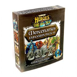 HEROES OF LAND, AIR AND SEA -  MERCENARIES - EXPANSION PACK #1 (ANGLAIS)