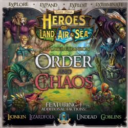 HEROES OF LAND, AIR AND SEA -  ORDER AND CHAOS (ANGLAIS)