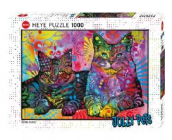 HEYE -  DEVOTED 2 CATS - (1000 PIÈCES) -  DEAN RUSSO