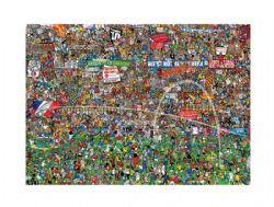 HEYE -  FOOTBALL HISTORY (3000 PIÈCES) -  MISHMASH