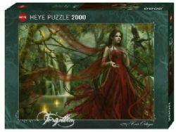 HEYE -  NEW RED (2000 PIÈCES) -  FORGOTTEN