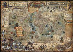 HEYE -  PIRATE WORLD (2000 PIÈCES) -  MAP ART