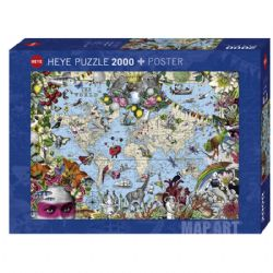 HEYE -  QUIRKY WORLD (2000 PIECES)