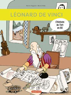 HISTOIRE DE L'ART EN BD, L' -  LÉONARD DE VINCI