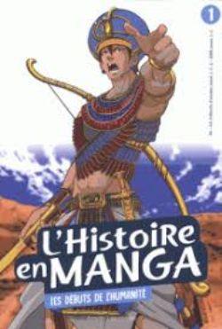 HISTOIRE EN MANGA, L' -  LES DÉBUTS DE L'HUMANITÉ (V.F.) 01