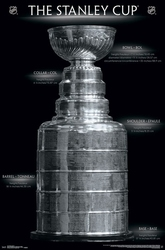 HOCKEY -  AFFICHE -  COUPE STANLEY