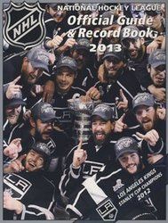 HOCKEY -  NHL OFFICIAL GUIDE & RECORD BOOK 2013