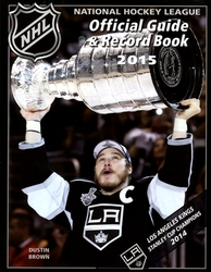 HOCKEY -  NHL OFFICIAL GUIDE & RECORD BOOK 2015