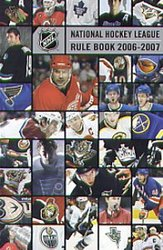 HOCKEY -  NHL RULE BOOK 2006-2007