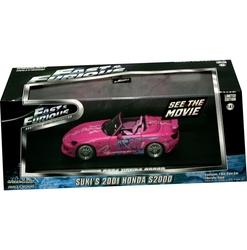 HONDA -  SUKI'S S2000 2001 1/43 - ROSE -  RAPIDE ET DANGEREUX