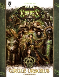 HORDES -  CIRCLE ORBOROS - COMMAND (SOFTCOVER) (ANGLAIS) -  HORDES