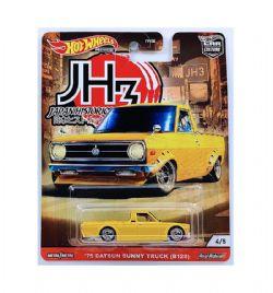 HOT WHEELS -  '75 DATSUN SUNNY TRUCK -  JAPAN HISTORICS 4/5