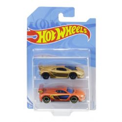 HOT WHEELS -  PAQUET DE 2 VOITURES EN MÉTAL