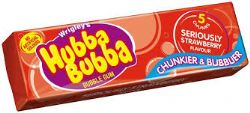 HUBBA BUBBA -  GOMME BALLOUNE - SÉRIEUSEMENT FRAISE