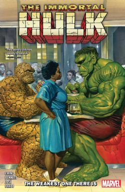 HULK -  THE WEAKEST ONE THERE IS TP -  IMMORTAL HULK 09