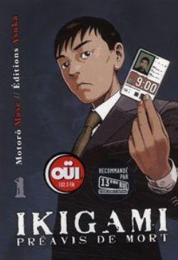 IKIGAMI -  PREAVIS DE MORT - LIVRE USAGÉ 01