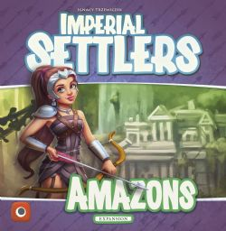 IMPERIAL SETTLERS -  AMAZONS (ANGLAIS)