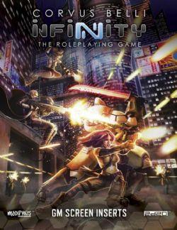 INFINITY RPG -  GAME MASTER'S SCREEN (ANGLAIS)