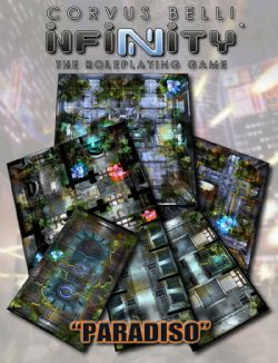 INFINITY RPG -  PARADISO -  GEOMORPHIC TILE SET