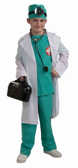 INFIRMIÈRES ET DOCTEURS -  COSTUME DE CHIRURGIEN EN CHEF (ENFANT)