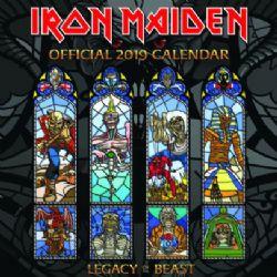 IRON MAIDEN -  CALENDRIER 2019