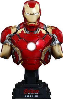 IRON MAN -  AVENGERS : AGE OF ULTRON IRON MAN MARK XLIII HTB28 1/4TH COLLECTIBLE BUST