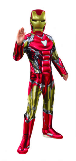IRON MAN -  COSTUME DE IRON MAN (ENFANT)