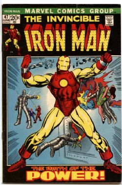 IRON MAN -  INVINCIBLE IRON MAN (1972) - VERY FINE - 8.0 47