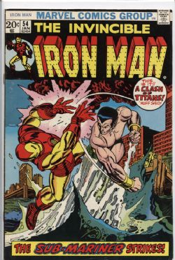 IRON MAN -  INVINCIBLE IRON MAN (1973) - VERY FINE - 8.0 54