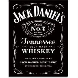 JACK DANIEL'S -  AFFICHE MÉTALLIQUE