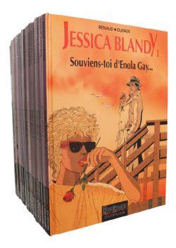 JESSICA BLANDY -  BD USAGÉS TOME 01 À 24 + EXTRA (EXCLUANT 18)