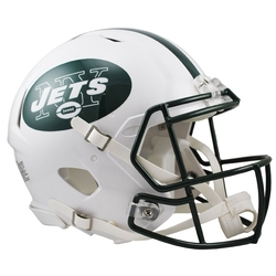 JETS DE NEW YORK -  CASQUE BLANC -  MINI RÉPLIQUE