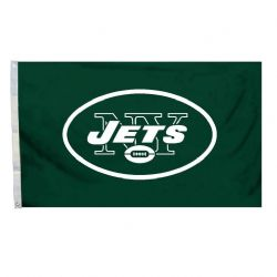 JETS DE NEW YORK -  DRAPEAU HORIZONTAL 36