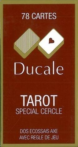 JEU DE TAROT -  DUCALE AVEC ÉTUI EN CARTON