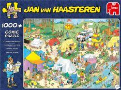 JUMBO -  CAMPING NATURE (1000 PIÈCES) -  JAN VAN HAASTEREN