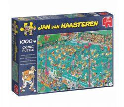 JUMBO -  CHAMPIONNATS DE HOCKEY (1000 PIÈCES) -  JAN VAN HAASTEREN